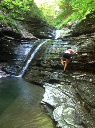 Caroline climbing waterfall - IMG_1761 (1) - jpeg