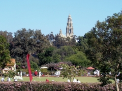 Balboa-Park-Spring-Colors-01-California-Tower-Lawn-Bowling