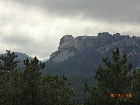 see Mount Rushmore from chairlift (1)