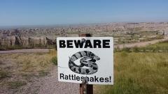 Badlands-Rattlesnake Sign
