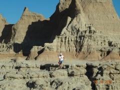Hiking Door Trail Badlands