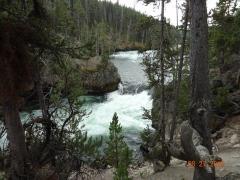 Yellowstone NP Upper Falls 109 feet (3)