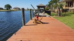 Dylan Fishing off Dock - 20151011_132037