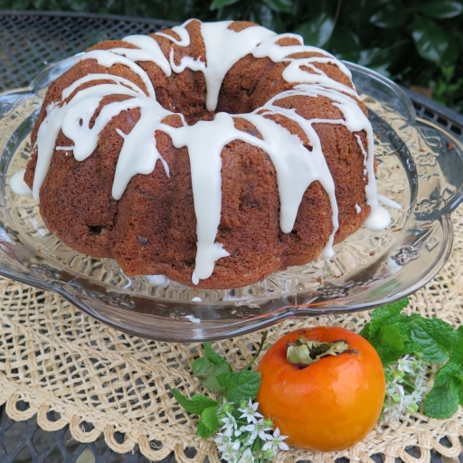 Bundt cake with persimmon - IMG_0261_1