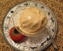 persimmon ice cream - IMG_0723_1