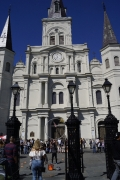 Cathedral at Jackson Square in New Orleans