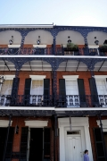French Quarter in New Orleans - iron work balconies