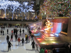Ice Skaters are Rockefeller Center - 2 - IMG_1182
