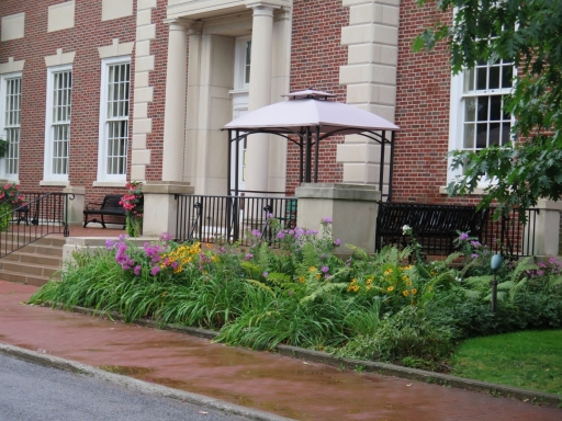 Landscaping at Library - IMG_0593